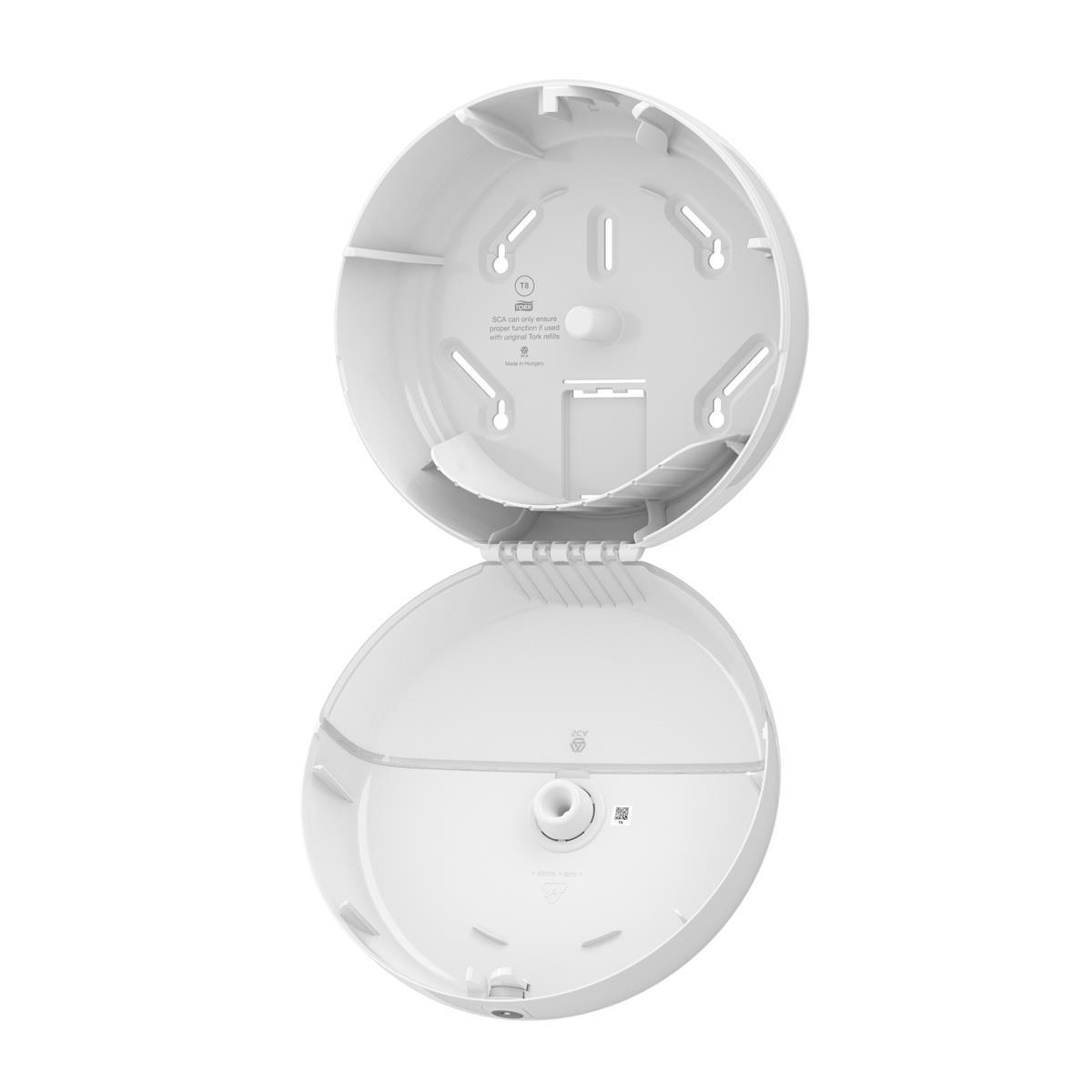 Tork SmartOne Toilet Roll Dispenser 269x156x269mm White Ref 680000