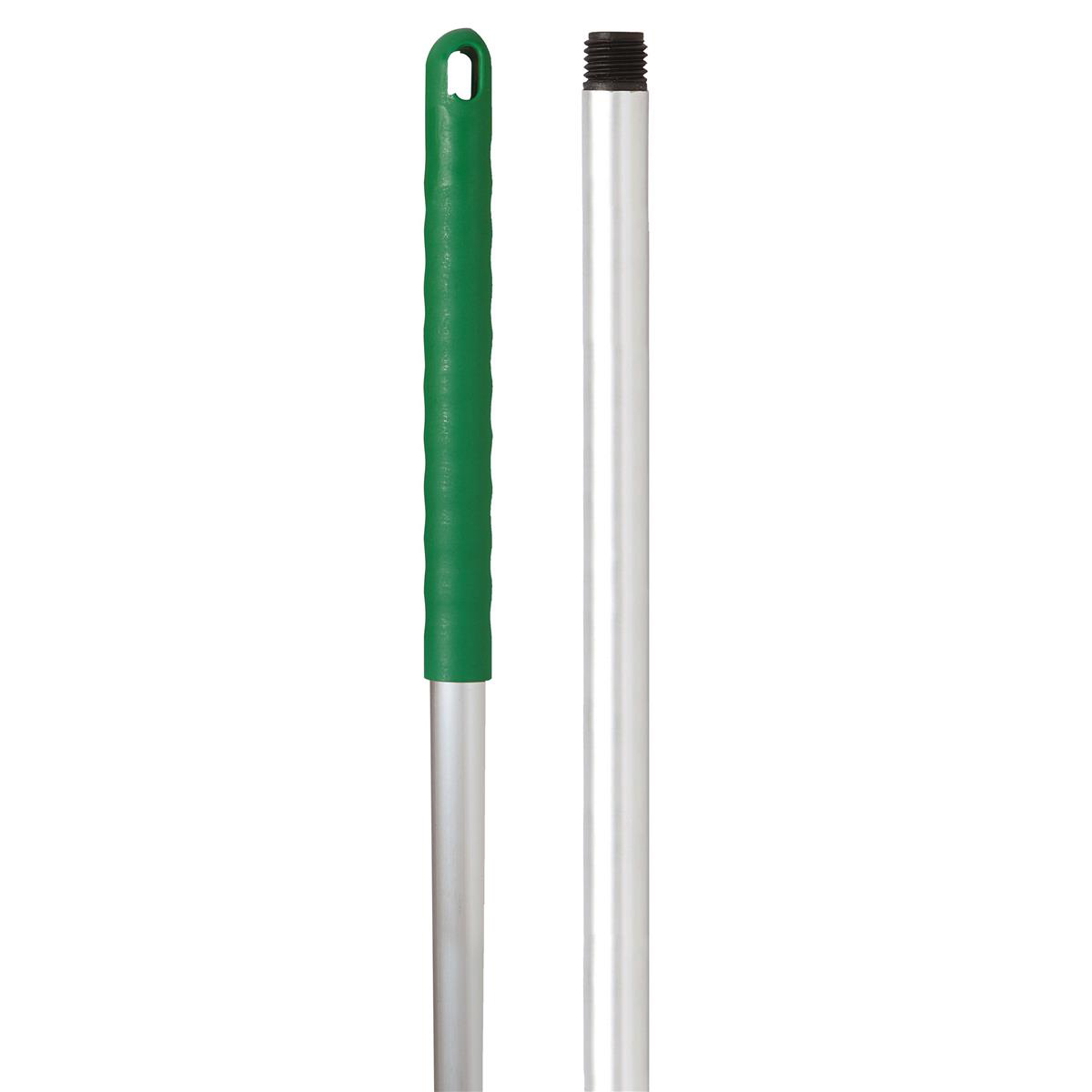 Broom or mop handles Robert Scott & Sons Abbey Hygiene Mop Handle Aluminium Colour-coded Screw 125cm Green Ref AH49G