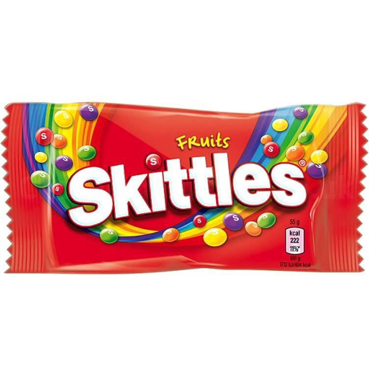 Skittles Fruits Bag 55g Ref 50472 [Pack 36]