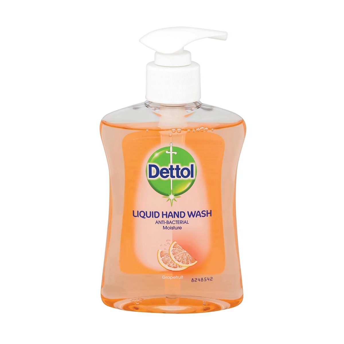 Hand cleaner Dettol Handsoap Antibacterial Moistening Grapefruit 250ml Ref 8071864