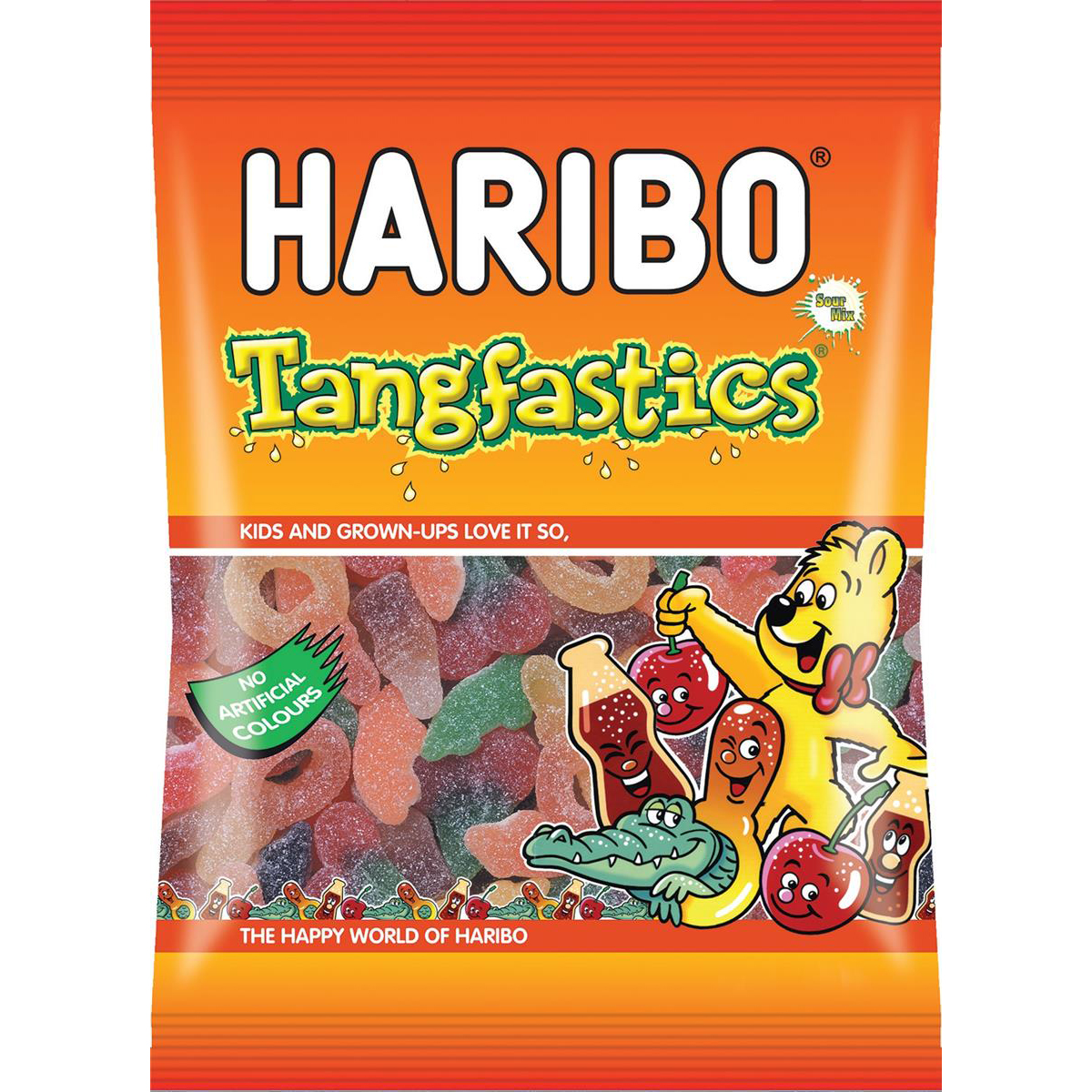 Sweets / Chocolate Haribo Tangfastic Sweets 140g Ref 14573