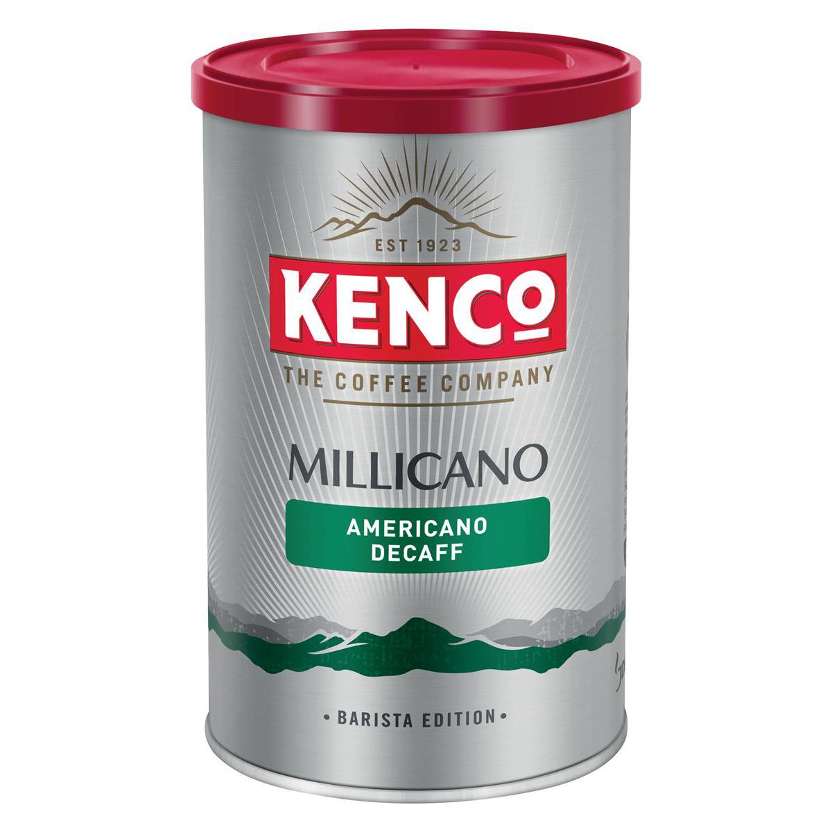 Kenco Millicano Coffee Wholebean Instant Caffeine Free [Decaff] 100g Ref 4032091