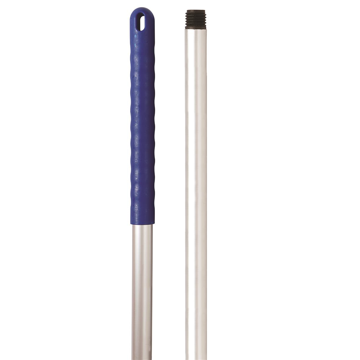 Broom or mop handles Robert Scott & Sons Abbey Hygiene Mop Handle Aluminium Colour-coded Screw 125cm Blue Ref AH49BL
