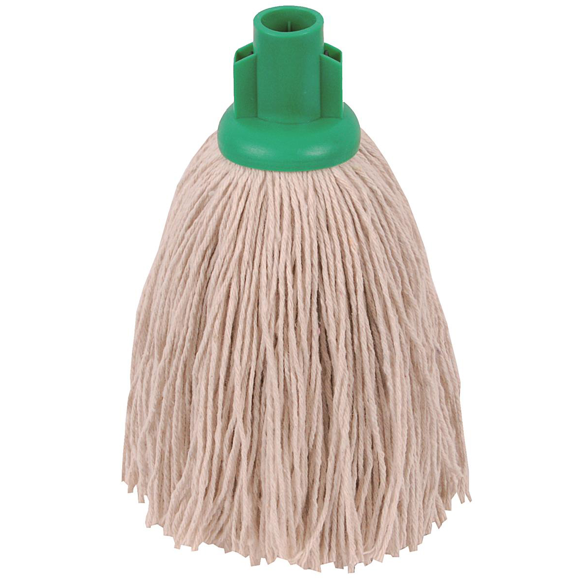 Robert Scott & Sons Twine Socket Mop for Rough Surfaces 12oz Green Ref 101852GREEN [Pack 10]