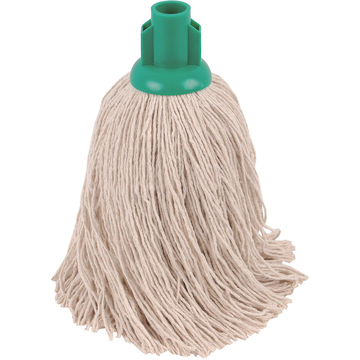 Robert Scott & Sons Twine Socket Mop for Rough Surfaces 16oz Green Ref 101858GREEN [Pack 10]
