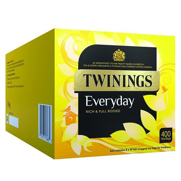 Twinings Everyday Teabags Ref 0403259 [Pack 400]