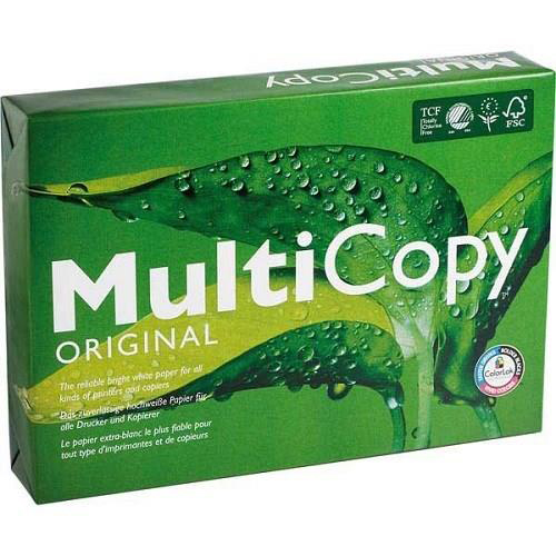 Multicopy Multifunctional Paper 160gsm A3 White Ref MC42160 250 Sheets