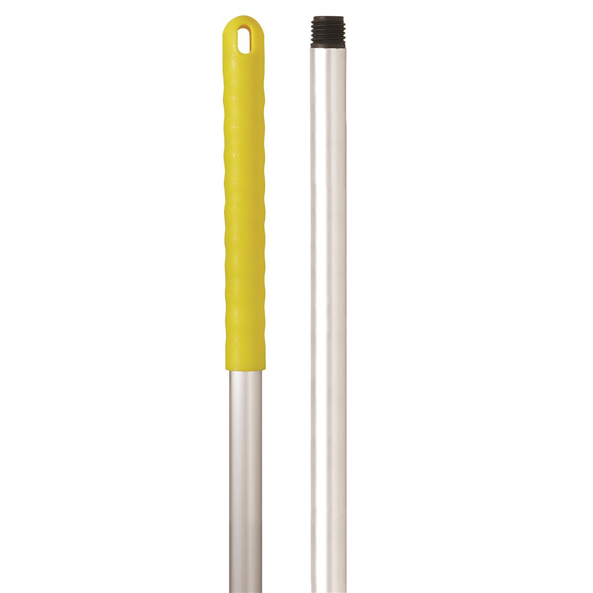 Robert Scott & Sons Abbey Hygiene Mop Handle Aluminium Colour-coded Screw 137cm Yellow Ref 103131YELLOW