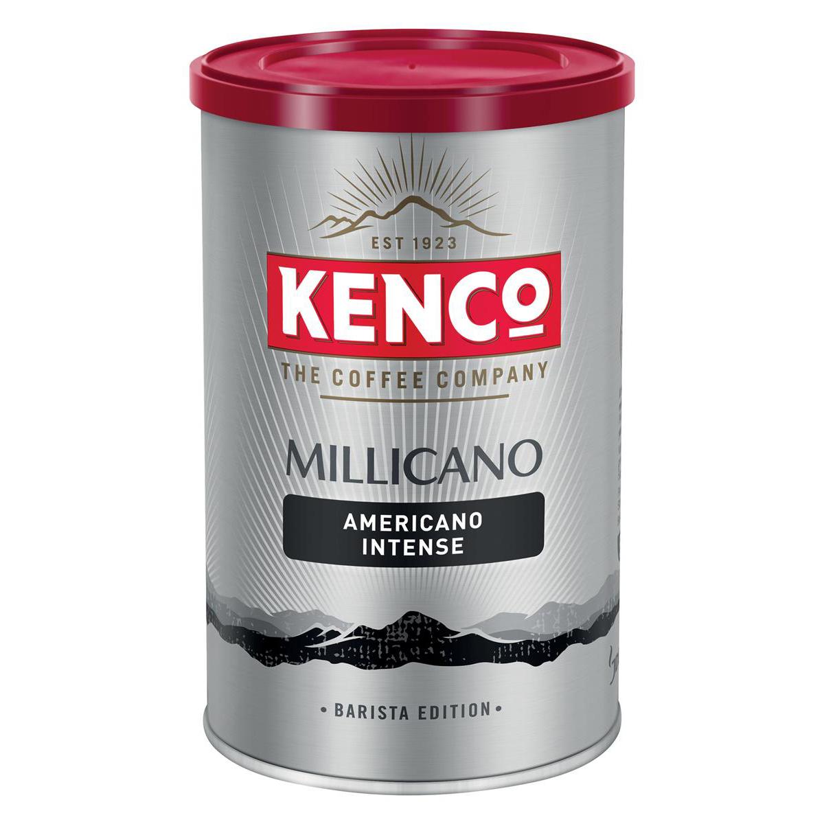 Kenco Millicano Coffee Wholebean Instant Dark Roast 100g Ref 4032095
