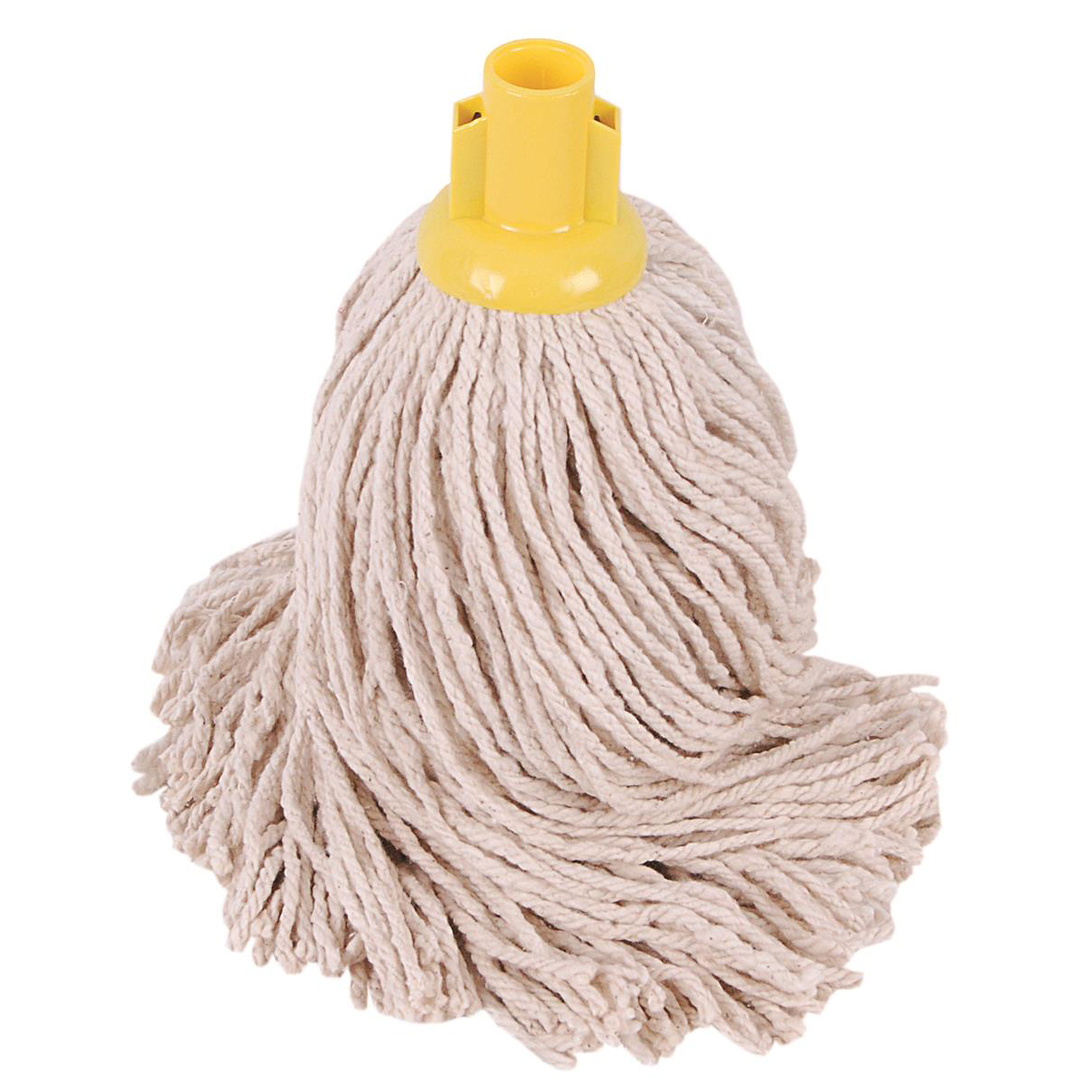 Robert Scott & Sons PY Socket Mop for Smooth Surfaces 16oz Yellow Ref 101876YELLOW [Pack 10]