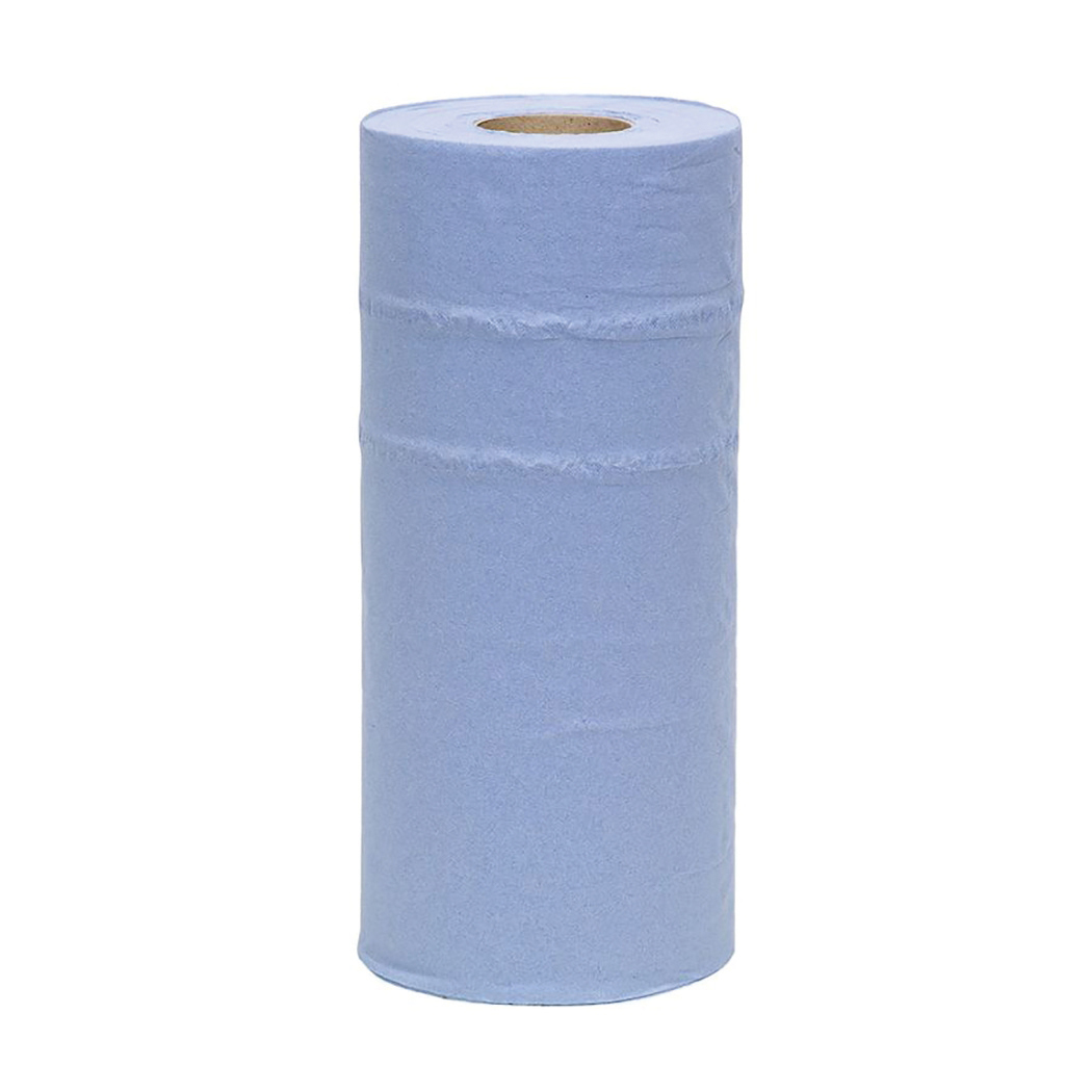 Maxima Hygiene Roll 10in x 40m 2-Ply Blue Ref 1105006 [Pack 24]