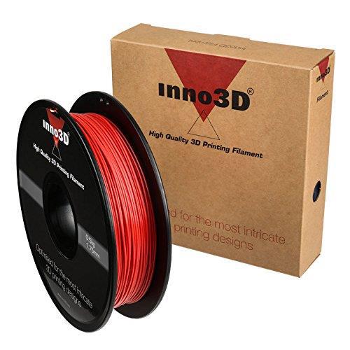 Inno3D PLA Filament for 3D Printer 1.75x200mm 0.5kg Ref 3DPFP175RD05