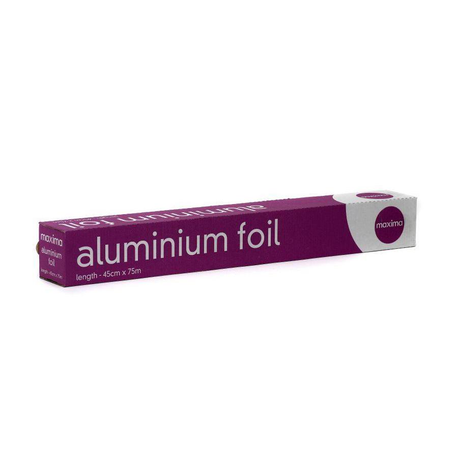Maxima Aluminium Foil 450mm x 75 Meters Ref 0505004