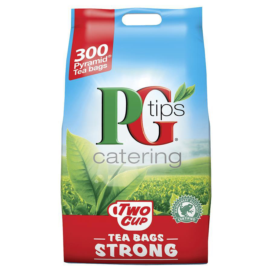 PG Tips Two Cup Strong Tea Bags Pyramid Ref 0403153 [Pack 300]