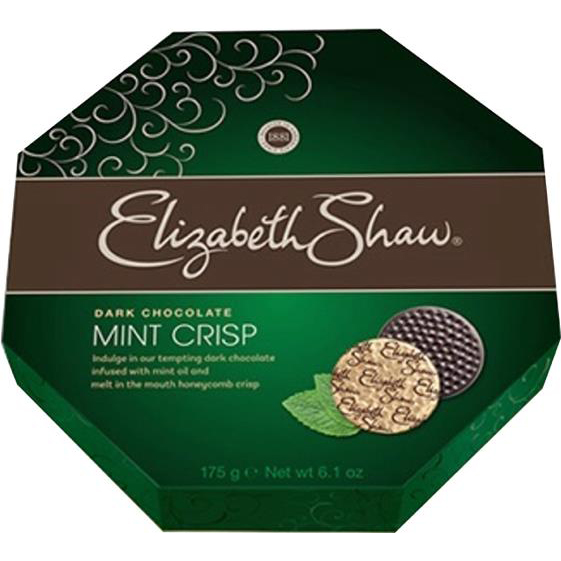 Sweets / Chocolate Elizabeth Shaw Mint Crisp Dark Chocolates Ref F5202