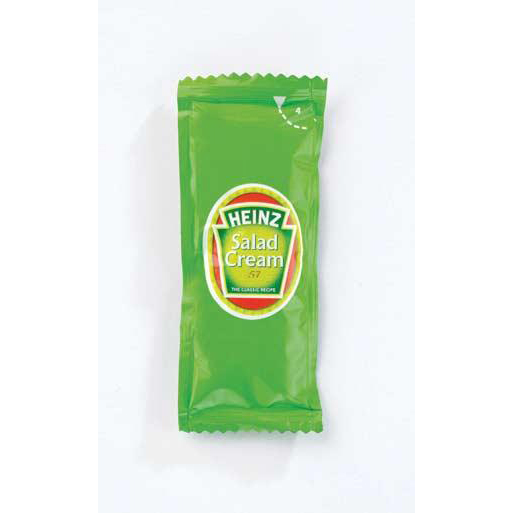Heinz Salad Cream Sachets Single Portion Ref HEI005 Pack 200