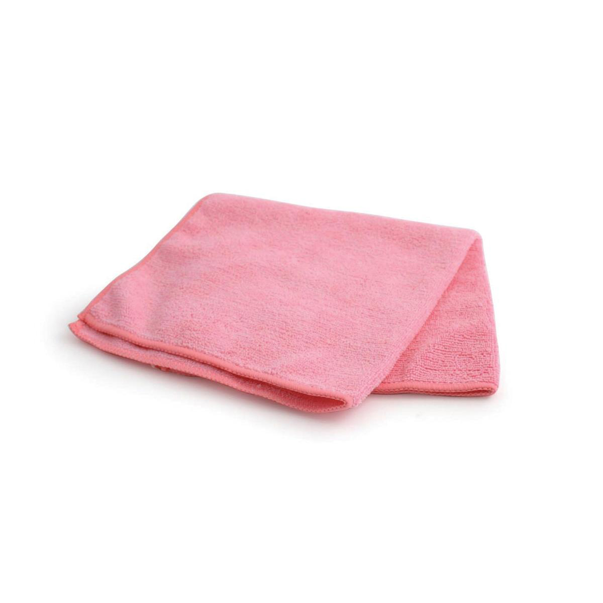 Maxima Glass Cloths Anti-bacterial Microfibre Pink Ref 0707202 [Pack 10]