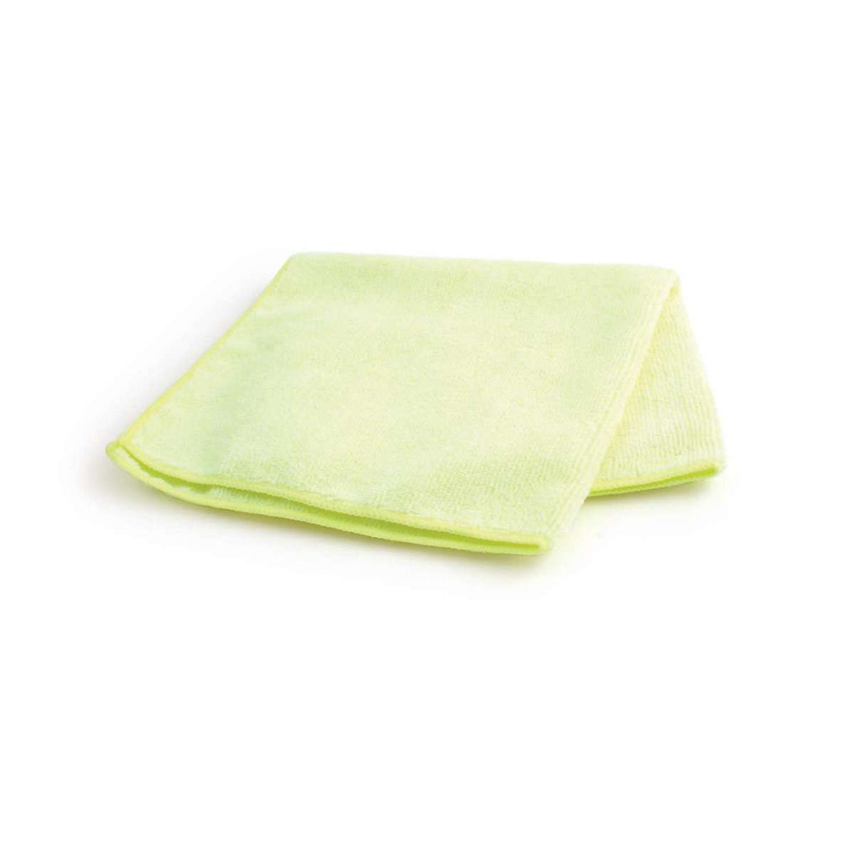 Maxima Glass Cloths Anti-bacterial Microfibre Yellow Ref 0707203 [Pack 10]