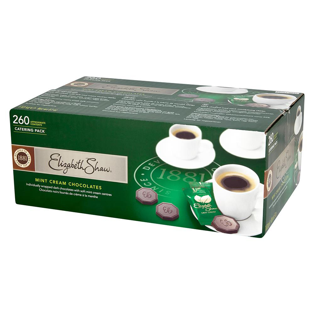 Elizabeth Shaw Mint Cream Chocolates Dark Ref F5201 [Pack 260]