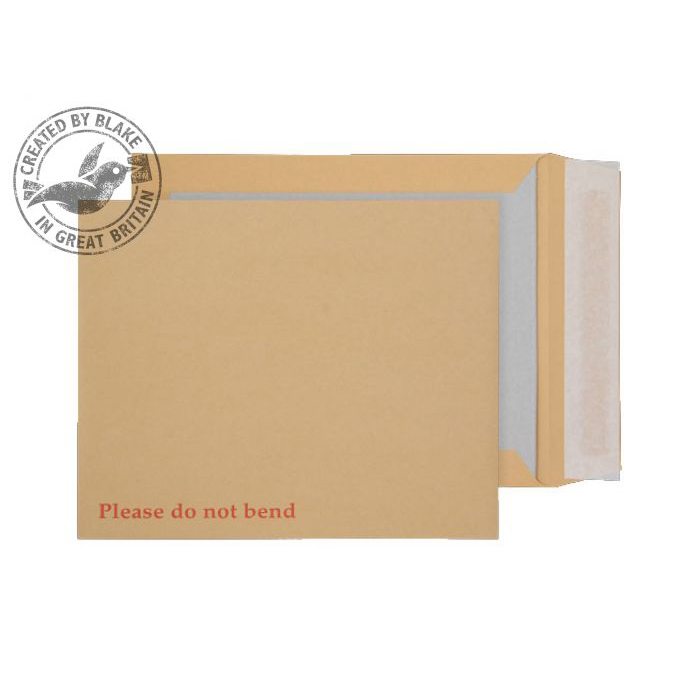 Purely Packaging Envelope Board Backed P&S 267x216mm Manilla Ref 22935 Pack 125 *10 Day Leadtime*