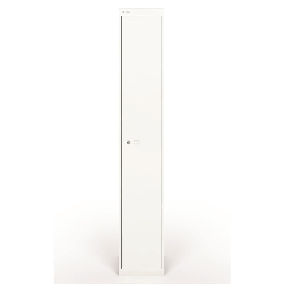 Bisley Locker 1 Door White 305d Ref CLK121-ab9