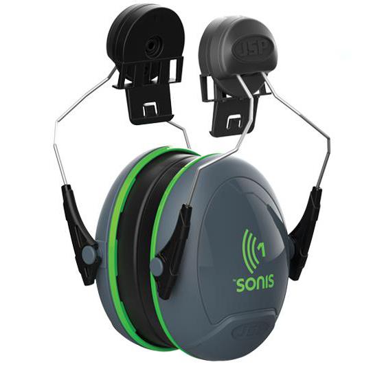JSP Sonis 1 Ear Defenders Low Attenuation Helmet-mounted Ref AEB010-0CY-8G1