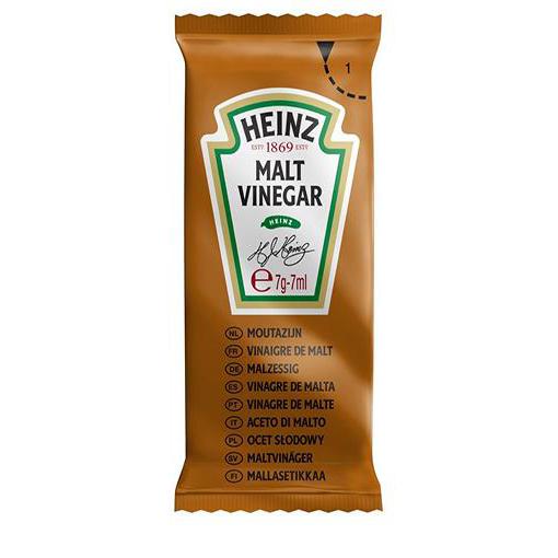 Heinz Malt Vinegar Sachets Single Portion Ref HEI003 [Pack 200]