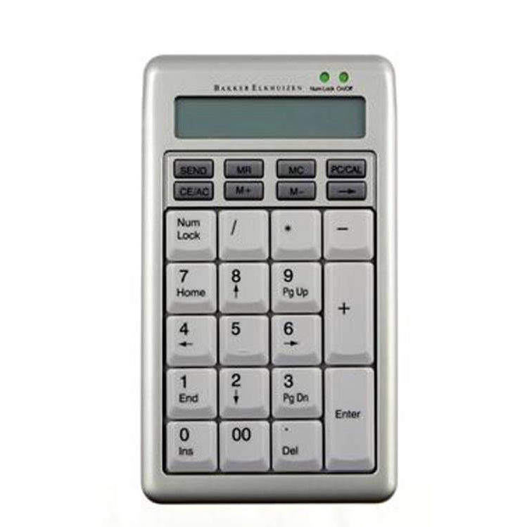 Bakker Elkhuizen S-Board 840 Numeric Keyboard Compact Calculator Ref BNES840DNUM