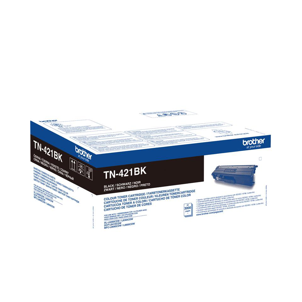 Brother TN421BK Black Toner Cartridge