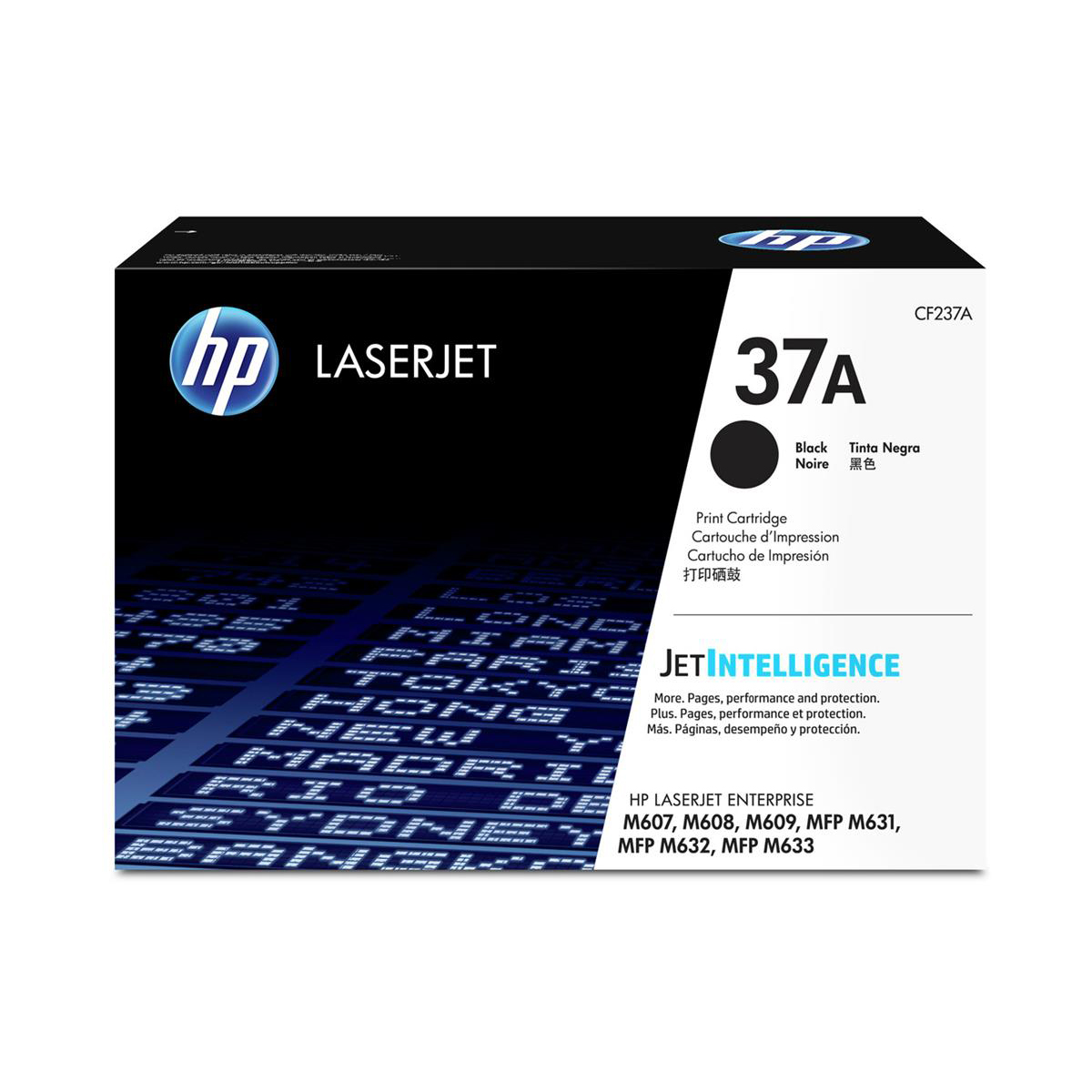 HP 37A Laser Toner Cartridge Page Life 11000pp Black Ref CF237A