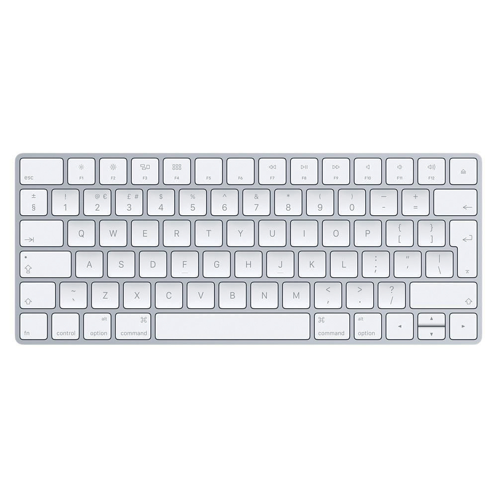 Keyboards Apple Magic Keyboard Wireless Bluetooth Rechargeable Ref MLA22B/A