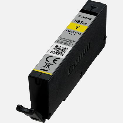 Canon CLI-581XXL Inkjet Cartridge Extra High Yield Page Life 830pp 11.7ml Yellow Ref 1997C001