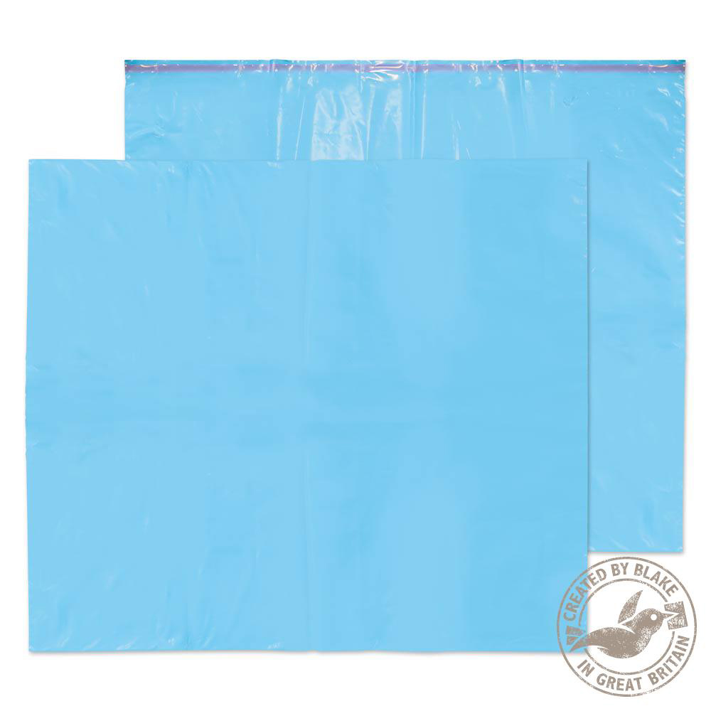 Blake Purely Packaging Polythene Mailing Wallet 711x589mm Blue Ref PE114/B Pk200 *10 Day Leadtime*