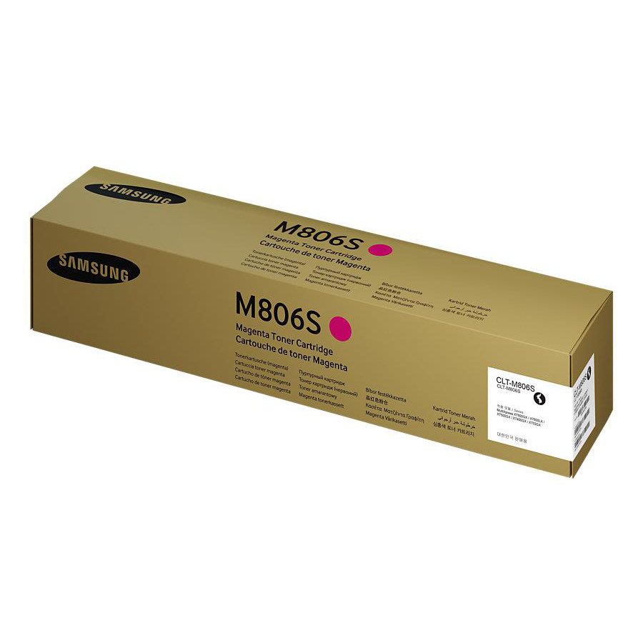 Samsung CLT-M806S Laser Toner Cartridge Page Life 30000pp Magenta Ref SS635A *3to5 Day Leadtime*