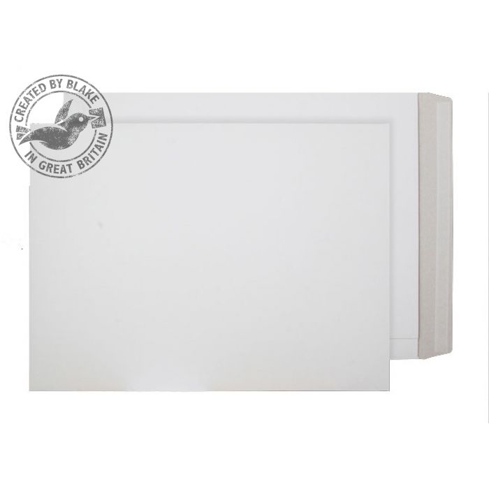 Board Backed Envelopes Purely Packaging Envelope All Board P&S 350gsm 508x381mm White Ref PPA18 Pk 100 *10 Day Leadtime*
