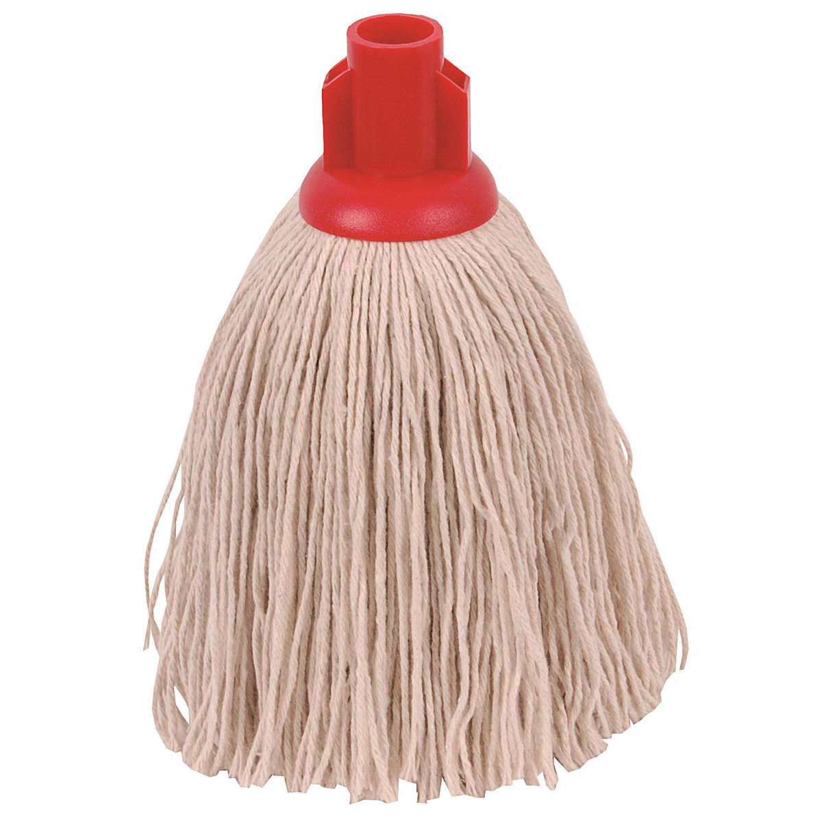 Robert Scott & Sons Twine Socket Mop for Rough Surfaces 12oz Red Ref 101852RED [Pack 10]