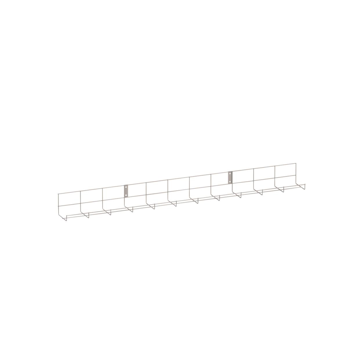 Trexus Cable Basket to fit 1200mm Desk Silver