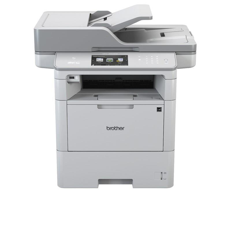 Multi function printers Brother MFC-L900DW Multifunctional Mono Laser Printer 50ppm WiFi Duplex Touchscreen Ref MFCL6900DWZU1