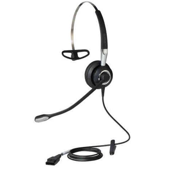 Phone headsets Jabra BIZ 2400 II Mono Headset with Multi-Device Connectivity Black/Grey Ref 2406-820-204