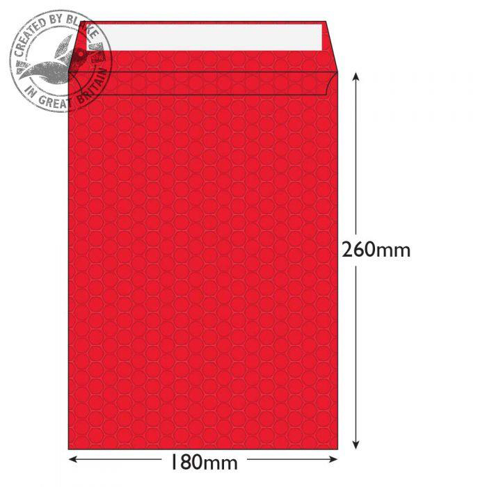 Purely Packaging Envelope P&S 260x180mm Bubble Envolite Black Ref KRD260 [Pk 100] 10 Day Leadtime