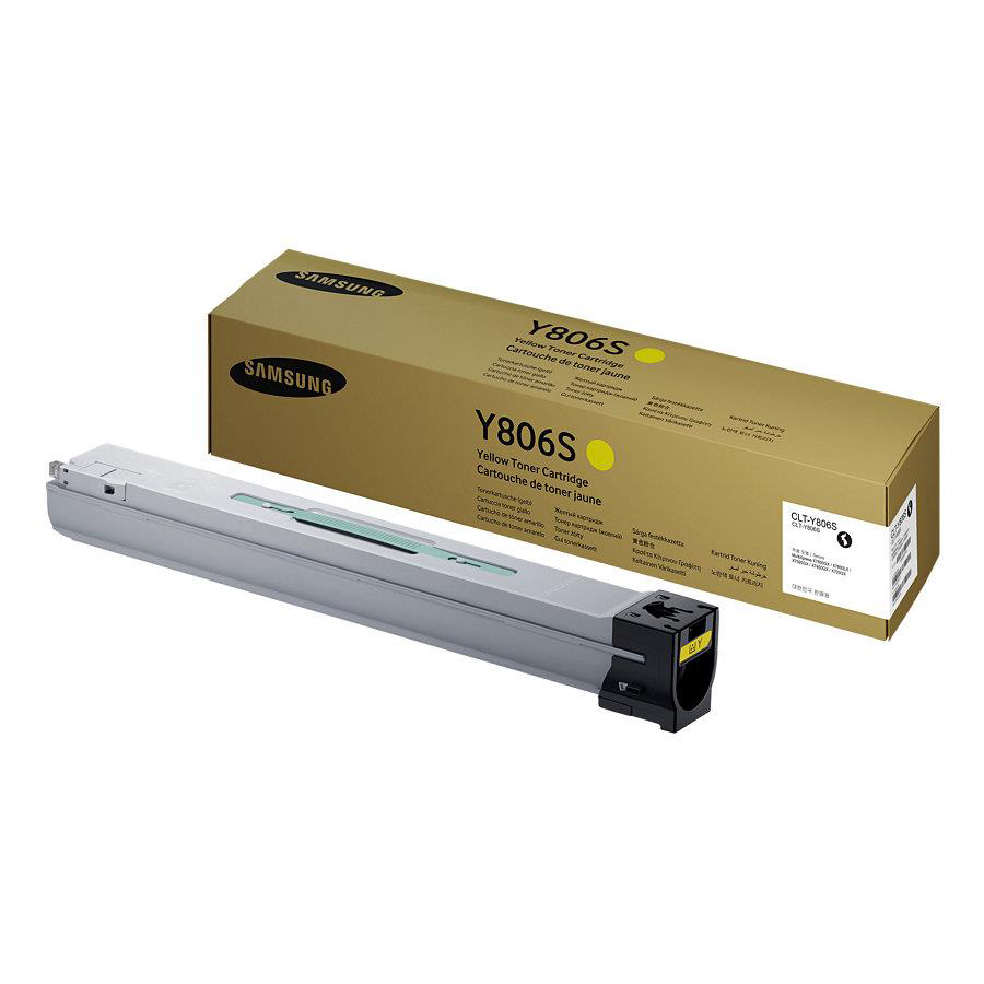 Samsung CLT-Y806S Laser Toner Cartridge Page Life 30000pp Yellow Ref SS728A 3to5 Day Leadtime