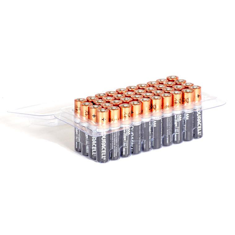 Duracell Batteries Industrial AAA Tub Ref AAADURINDB40T Pack 40