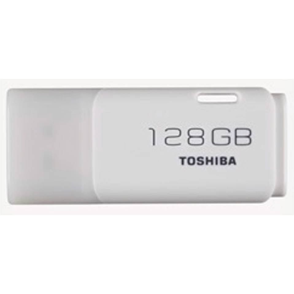 Pen or flash drive Toshiba TransMemory Flash Drive USB 2.0 128GB White Ref THN-U202W1280E4