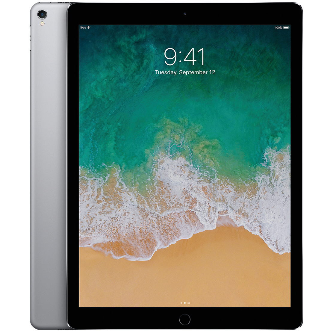 Apple iPad Pro A10X Processor Wi-Fi 64GB 10.5in Retina Display ID Finger Sensor Space Grey Ref MQDT2B/A