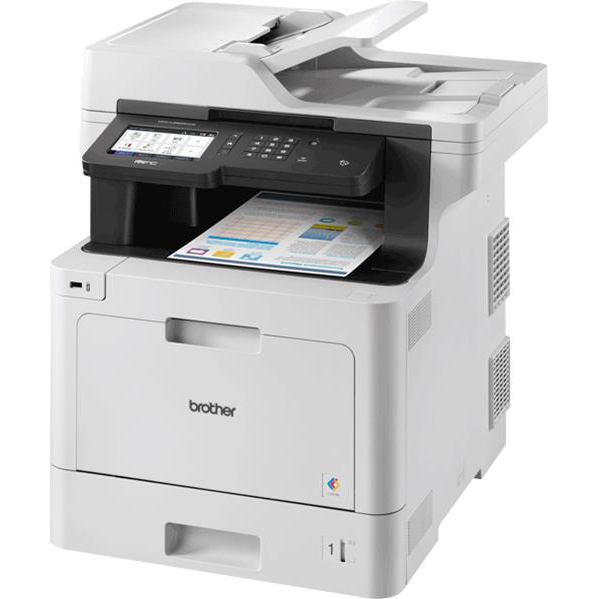 Multi function printers Brother MFCL8900CDW Colour Laser Multifunctional A4 Printer with Wi-Fi Network Ref MFCL8900CDWZU1