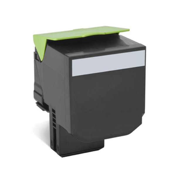 Lexmark 702XK Toner Cartridge Return Program Extra High Yield Page Life 8000pp Yellow Ref 70C2XK0