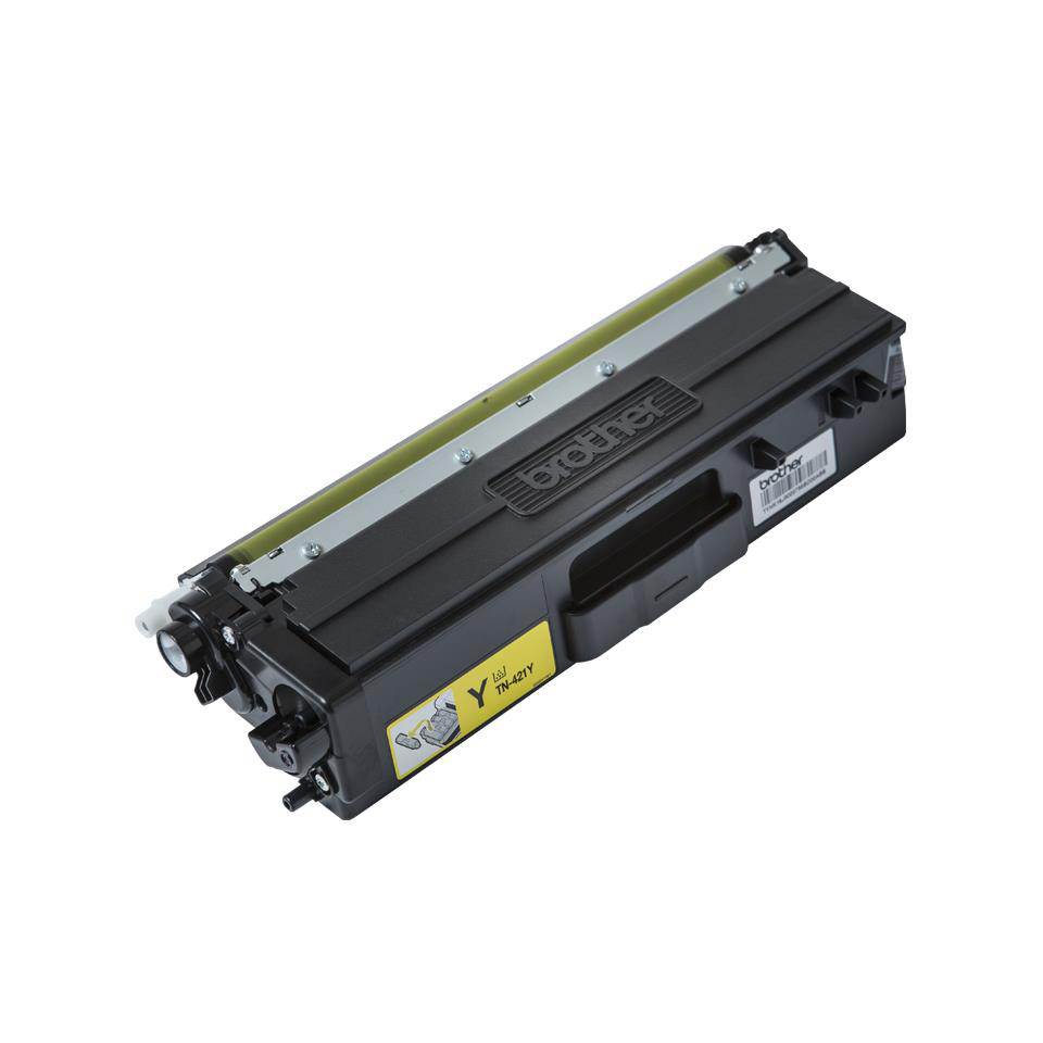 Brother TN421Y Laser Toner Cartridge Page Life 1800pp Yellow Ref TN421Y