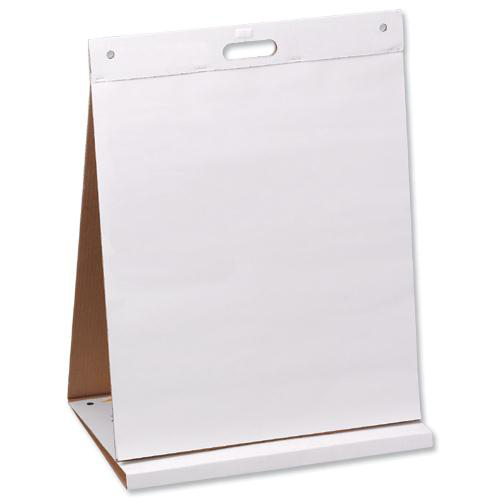Pads Post-it Table Top Easel Chart Dry Erase Self-adhesive 20 Sheets 584x508mm Ref 563DE