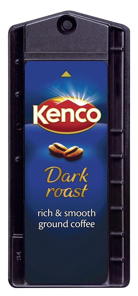 Kenco Dark Roast Coffee Singles Capsule 6.8g Ref A01141 [Pack 160]