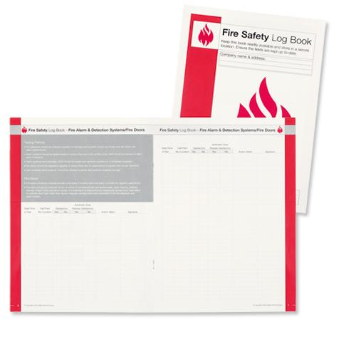 Image for IVG Fire Incidence and Prevention Log Book A4 Ref IVGSFLB